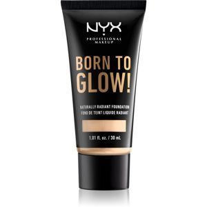 NYX Professional Makeup Born To Glow élénkítő folyékony make-up