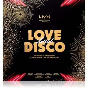 NYX Professional Makeup Love Lust Disco Greatest Hits ádventi naptár