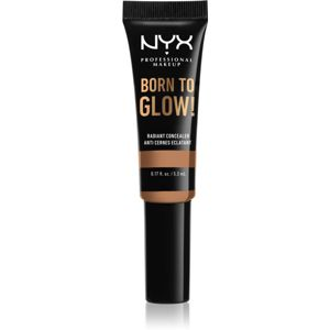 NYX Professional Makeup Born To Glow élénkítő korrektor árnyalat Golden Honey 5,3 ml