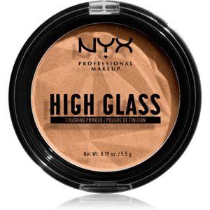 NYX Professional Makeup High Glass világosító púder árnyalat Medium 5,5 g