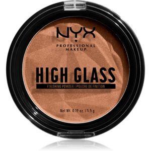 NYX Professional Makeup High Glass világosító púder árnyalat Deep 5,5 g
