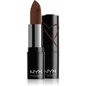 NYX Professional Makeup Shout Loud hidratáló krém rúzs árnyalat 15 - Grind 3,5 g
