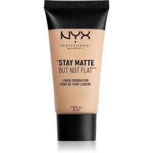 NYX Professional Makeup Stay Matte But Not Flat mattító folyékony alapozó árnyalat 16 Porcelain 35 ml