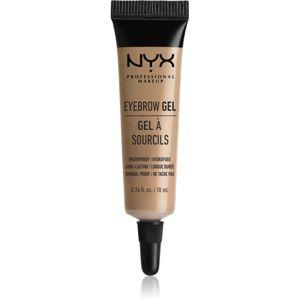 NYX Professional Makeup Eyebrow Gel Szemöldökformázó zselé