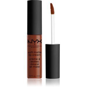 NYX Professional Makeup Soft Matte Lip Cream matt folyékony állagú ajakrúzs