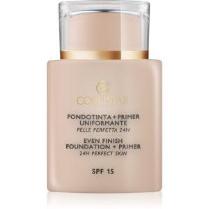 Collistar Foundation Perfect Skin make-up és alapozó bázis SPF 15