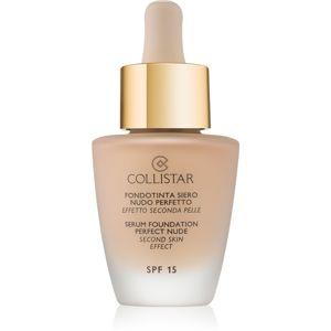 Collistar Foundation Perfect Nude élénkítő make-up a természetes hatásért SPF 15