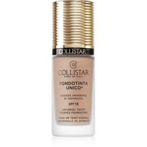 Collistar Unico Foundation fiatalító make-up SPF 15 árnyalat 4R Nude Rosé 30 ml