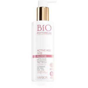 Phytorelax Laboratories Bio Active Age Goji könnyű állagú tisztítótej érett bőrre 200 ml