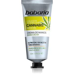 Babaria Cannabis hidratáló kézkrém 50 ml