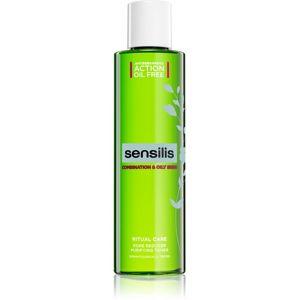 Sensilis Ritual Care tisztító tonik a faggyú szabályozására és a pórusok minimalizására kombinált és zsíros bőrre