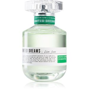 Benetton United Dreams for her Live Free eau de toilette hölgyeknek