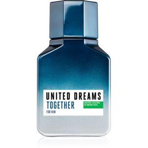 Benetton United Dreams for him Together eau de toilette uraknak 100 ml
