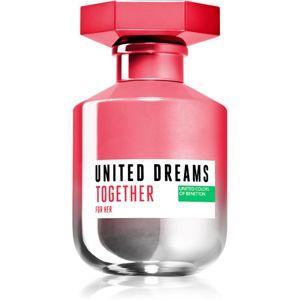 Benetton United Dreams for her Together eau de toilette hölgyeknek 80 ml