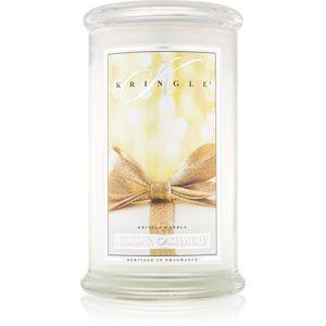 Kringle Candle Gold & Cashmere illatos gyertya