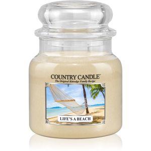 Country Candle Life's a Beach illatos gyertya