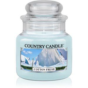 Country Candle Cotton Fresh illatos gyertya