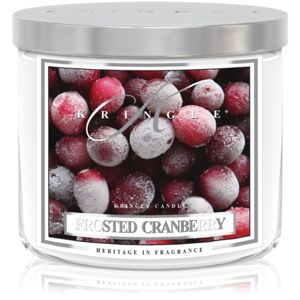 Kringle Candle Frosted Cranberry illatos gyertya I. 411 g