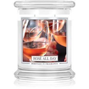 Kringle Candle Rosé All Day illatos gyertya