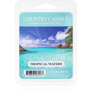 Country Candle Tropical Waters illatos viasz aromalámpába 64 g