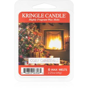 Kringle Candle Cozy Christmas illatos viasz aromalámpába 64 g