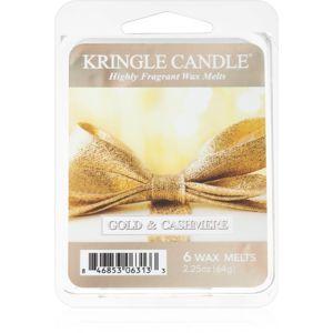 Kringle Candle Gold & Cashmere illatos viasz aromalámpába 64 g