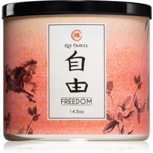Kringle Candle Zen Freedom illatos gyertya 411 g
