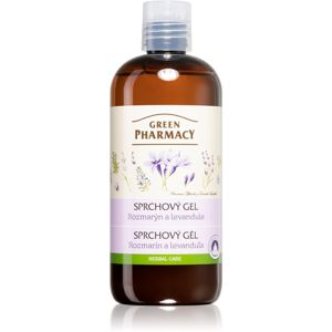 Green Pharmacy Body Care Rosemary & Lavender ápoló tusoló gél 500 ml