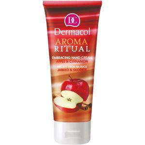 Dermacol Aroma Ritual melegítő kézkrém alma és fahéj 100 ml