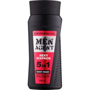 Dermacol Men Agent Sexy Sixpack tusfürdő gél 5 in 1