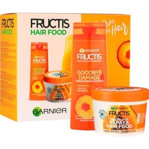 Garnier Fructis Papaya Hair Food kozmetika szett I. (a károsult hajra)