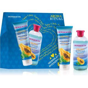 Dermacol Aroma Ritual Papaya & Mint ajándékszett (testre)