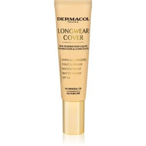 Dermacol Longwear Cover fluid make-up SPF 15 árnyalat č.03 30 ml