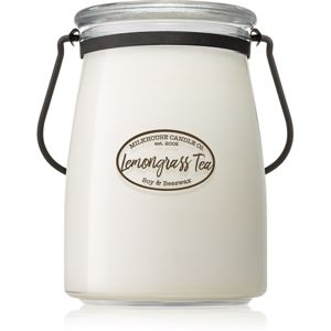Milkhouse Candle Co. Creamery Lemongrass Tea illatos gyertya Butter Jar