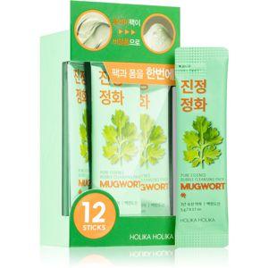 Holika Holika Pure Essence Mugwort takarékos kiszerelés a bőr tökéletes tisztításához