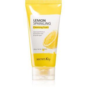 Secret Key Lemon Sparkling frissítő tisztító hab 120 ml