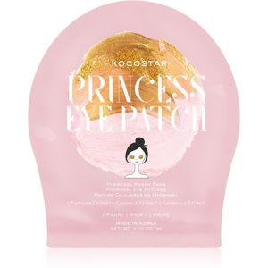 KOCOSTAR Princess Eye Patch hidrogél maszk a szem körül a fiatalos kinézetért