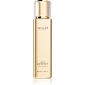 Shangpree Gold Essence hidratáló tonik a bőr pH-értékének kiegyensúlyozására 120 ml