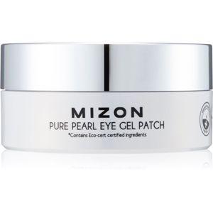 Mizon Pure Pearl Eye Gel Patch hidrogél maszk a szem körül a duzzanatokra és a sötét karikákra 60 db