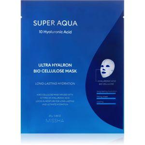 Missha Super Aqua 10 Hyaluronic Acid mélyhidratáló és tápláló arcmaszk