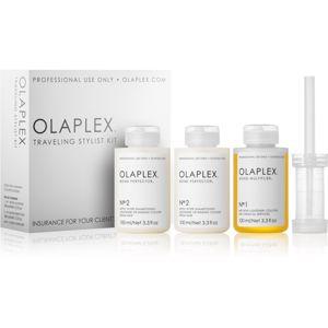 Olaplex Traveling Stylist Kit kozmetika szett I. (minden hajtípusra) hölgyeknek