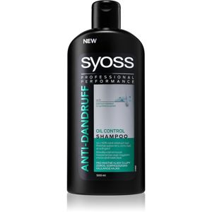 Syoss Anti-Dandruff Oil Control sampon hajolajjal korpásodás ellen