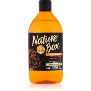 Nature Box Apricot tápláló sampon a fénylő és selymes hajért 385 ml