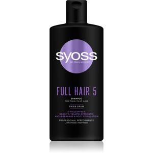 Syoss Full Hair 5 sampon a gyenge hajra 440 ml