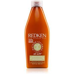 Redken Nature+Science All Soft hidratáló kondicionáló száraz és sérült hajra