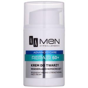 AA Cosmetics Men Advanced Care bőrmegújító regeneráló arckrém 60+