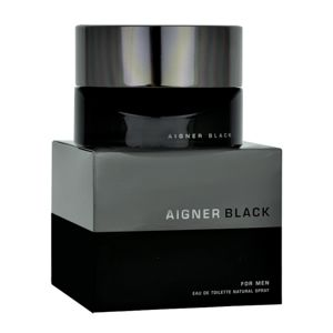 Etienne Aigner Black for Man Eau de Toilette uraknak 125 ml