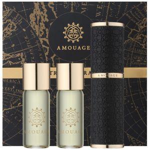Amouage Jubilation 25 Men eau de parfum (1x utántölthető + 2x utántöltő) uraknak 3 x 10 ml