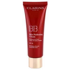 Clarins Face Make-Up BB Skin Perfecting Cream tónusegyesítő BB krém a bőr tökéletlenségeire SPF 25 árnyalat 00 Fair 45 ml