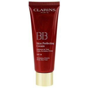 Clarins Face Make-Up BB Skin Perfecting Cream tónusegyesítő BB krém a bőr tökéletlenségeire SPF 25 árnyalat 03 Dark 45 ml